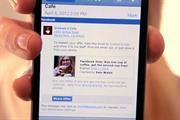 Facebook trials mobile payments feature for third-party sites