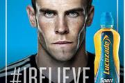 Gareth Bale fronts £4m 'I believe' Lucozade campaign