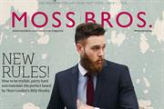 Moss Bros launches magazine to appeal to 'sartorial gangsters'