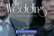Nissan creates a virtual test drive with runaway bride and groom
