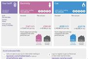 Npower uses colour-coding to demystify energy bills