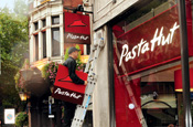 Pizza Hut name switch lambasted as 'puerile'