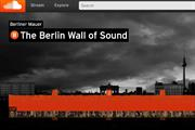 Berlin Wall recreated as listenable sound-wave to mark 25th anniversary of 'The Fall'