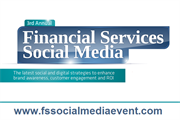 So, just how social are financial services?