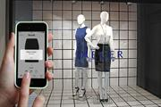 Fashion brands install high-tech mannequins to target shoppers' mobiles