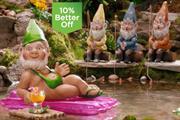 Asda unleashes mankini-clad gnome to differentiate brand from rivals