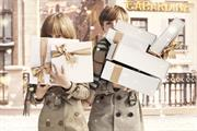Burberry readies festive social media takeover