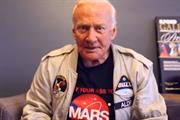 Buzz Aldrin sells moon-walking sneakers in 1969 moon landing Vine from General Electric