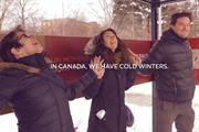 Duracell heats up Canadian bus commuters by getting them to hold hands