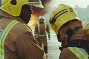Putting out fires? All in a day's work in Vodafone's new ad - but what's for dinner?