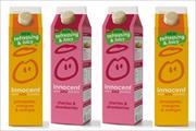 Innocent launches 'more refreshing' smoothie