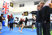 Reebok partners with martial arts charity Fight for Peace