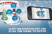 Camelot launches augmented reality National Lottery scratchcards for Christmas