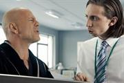 Sky's Bruce Willis broadband ad banned