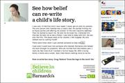 Barnardo's interactive app raises awareness of child sex exploitation services