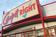 Carpetright retains Different as creative agency