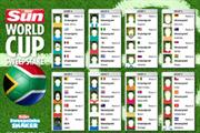 WCRS creates World Cup app for The Sun