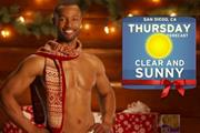 P&G brings back Old Spice guy as MANta Claus