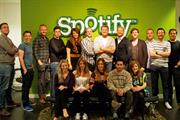 Campaign Media Awards 2012 - Digital Sales Team of the Year: Spotify