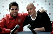 Arsenal stars promote cancer charity campaign