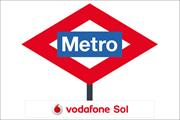 Vodafone splashes €3m on painting Madrid Metro red