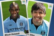 Man City virtual sticker app swaps footballers for fans