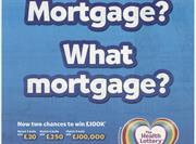 The Health Lottery press ad banned for implying a route to financial security