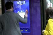 Cadbury Creme Egg launches touchscreen bus shelter game