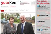 Ken Livingstone launches campaigning site