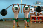 Eyes get workout in Vision Express TV spot