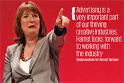 Labour extends olive branch to ad industry