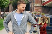 Gary Barlow meets the meerkats in Comparethemarket ad