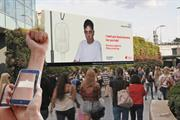 NHS encourages virtual blood donations with augmented reality outdoor ads
