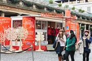 In pictures: brands target shoppers and commuters in festive ads