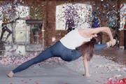 Replay's 'mind-blowing' ad stars supermodel doing yoga in jeans