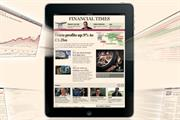 FT iPad app proves more popular than its iPhone app