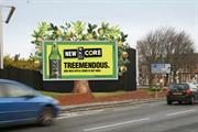 Hyperspace and JCDecaux partner for WKD Core outdoor tree campaign