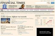 FT's digital readership rises 27% and ad growth returns