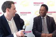 VIDEO: Pele strikes global partnership with MediaCom
