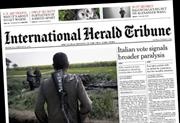 International Herald Tribune to become The International New York Times