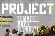 Project magazine cover plays on iPad 2 gyroscope
