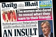 The Sun loses readership crown to Daily Mail