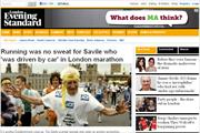 Evening Standard website suffers torrid September