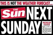 The Sun on Sunday to launch in six days