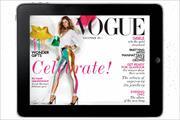 Vogue iPad app to go monthly in September