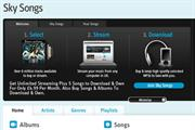 Sky pulls the plug on online music service