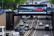 Peugeot and Samsung sign up to motorway screen sheet