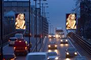 Hammersmith flyover ad sites reopen for business