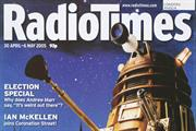 Radio Times Dalek voted Cover of the Century
