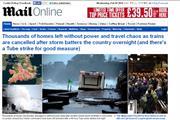 MailOnline reports £14m ad revenues in last quarter